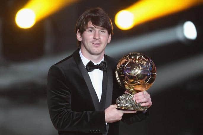 Messi melhor jogador do mundo 2010