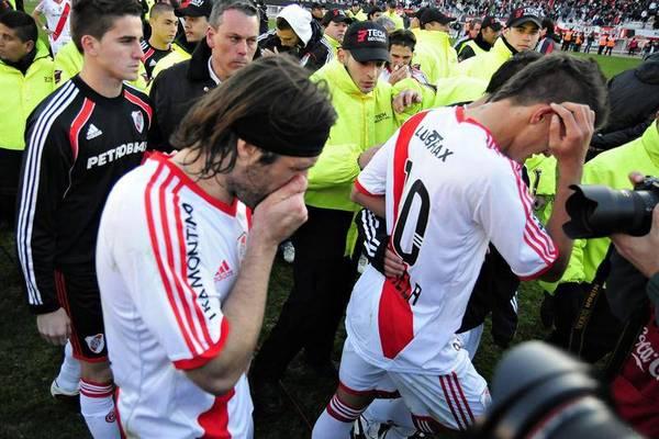 River Plate rebaixado no Campeonato Argentino