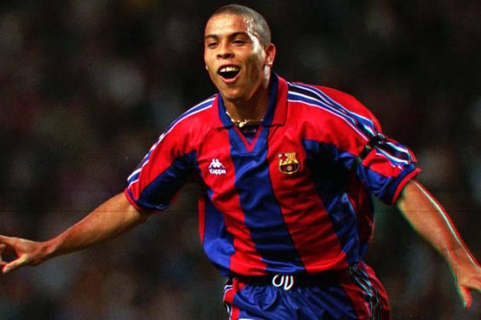 Ronaldo melhor jogador do mundo de 1996