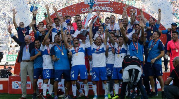Universidad de Chile campeão chileno 2018