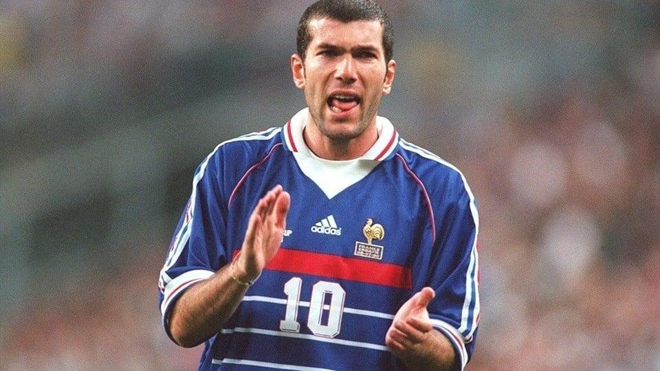 Zidane melhor jogador do mundo de 1998