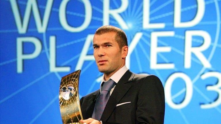 Zidane melhor jogador do mundo de 2003