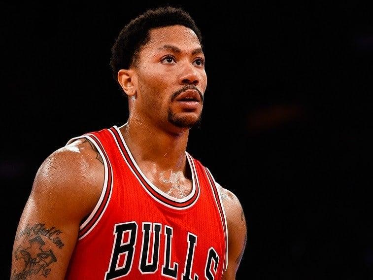 Derrick Rose Chicago Bulls