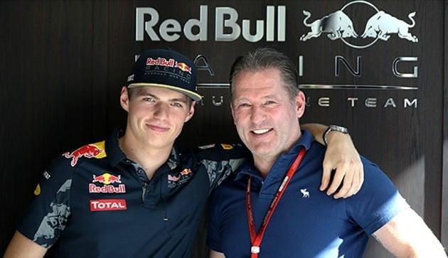 Max Verstappen e pai Jos Verstappen