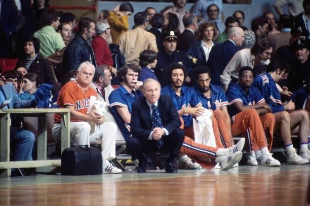 Red Holzman no New York Knicks