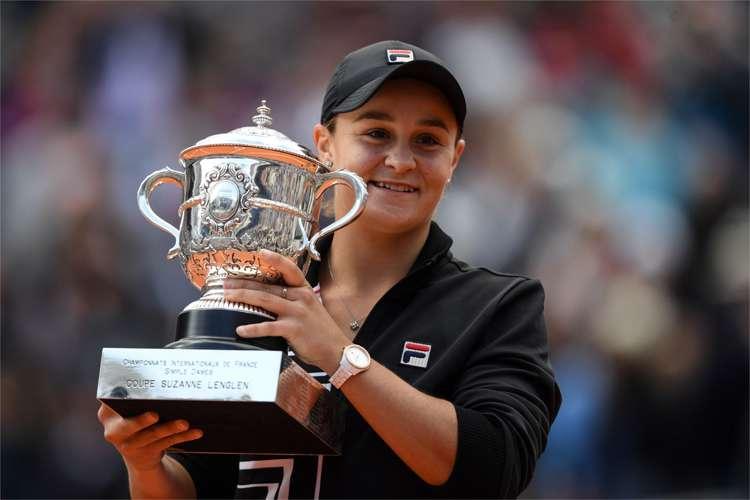Ashleigh Barty campeã de Roland Garros 2019