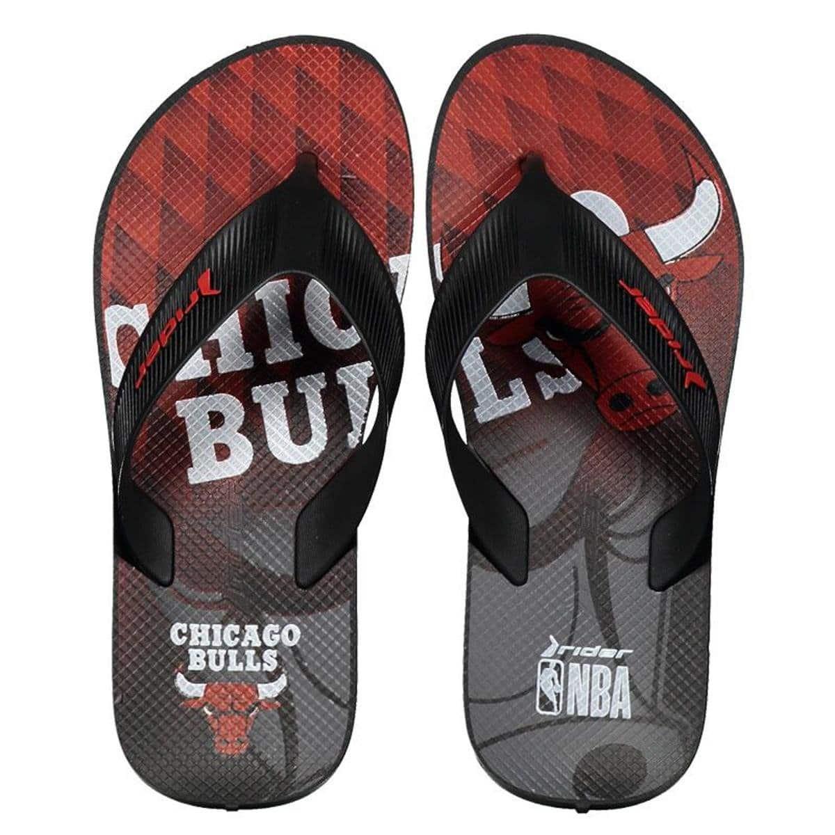 Chinelo do Chicago Bulls