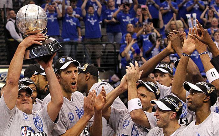 Dallas Mavericks campeão da conferência oeste da NBA em 2011