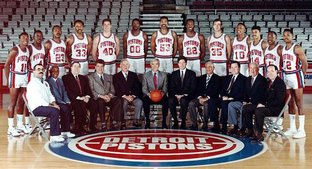 Detroit Pistons Bad Boys NBA