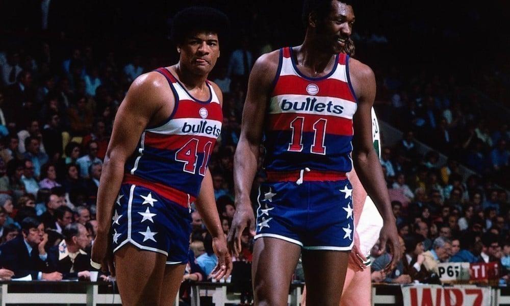 Elvin Hayes e Wes Unseld Washington Bullets
