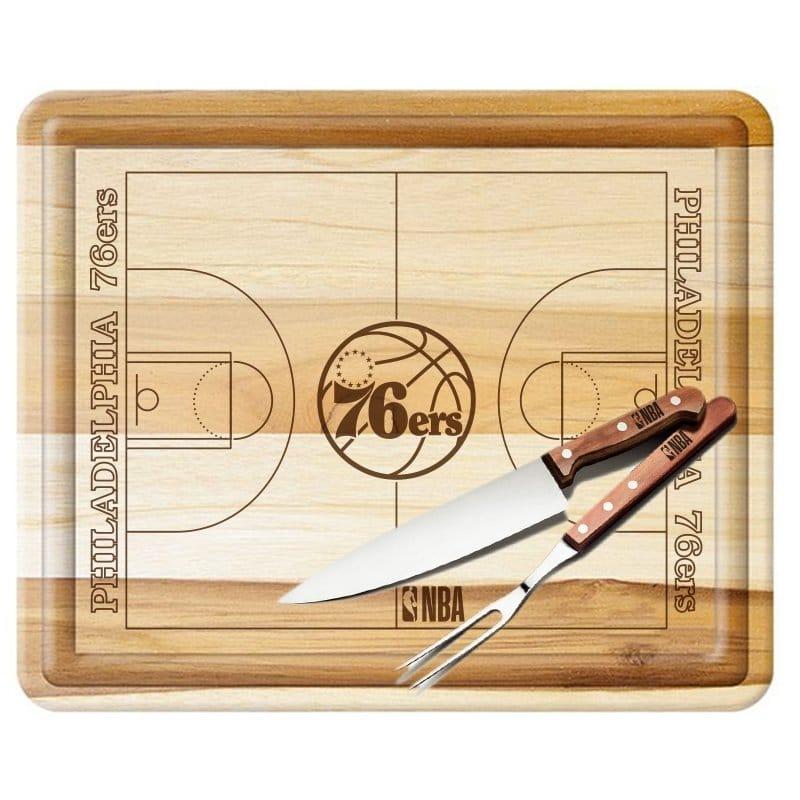 Kit churrasco do Philadelphia 76ers
