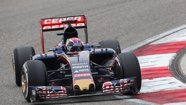 Max Verstappen na Toro Rosso