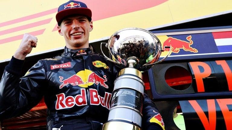Max Verstappen primeira vitória na Fórmula 1