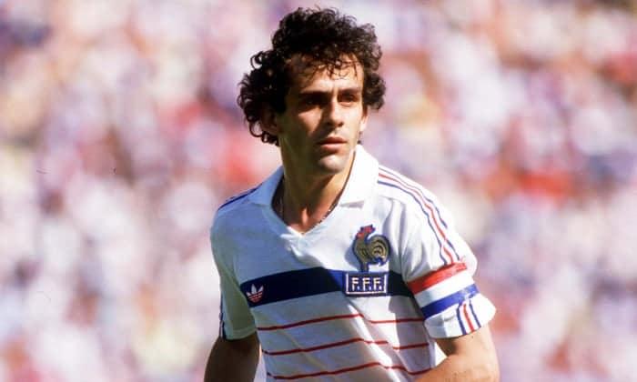 Michel Platini maior artilheiro da Eurocopa
