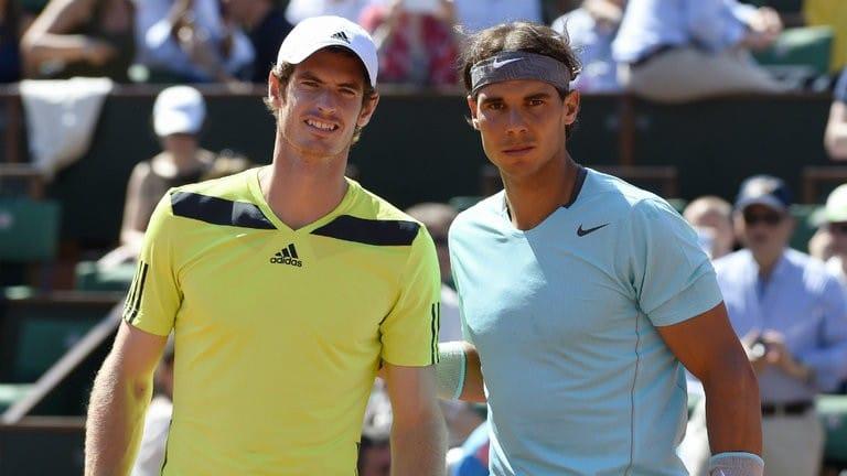 Andy Murray e Rafael Nadal