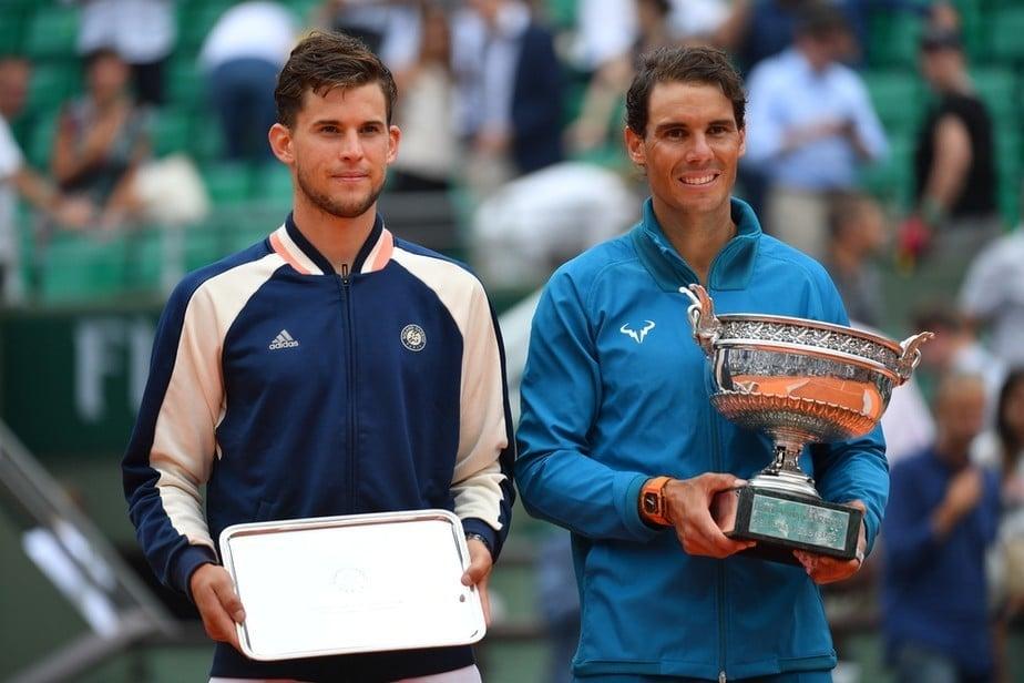 Nadal e Thiem em Roland Garros