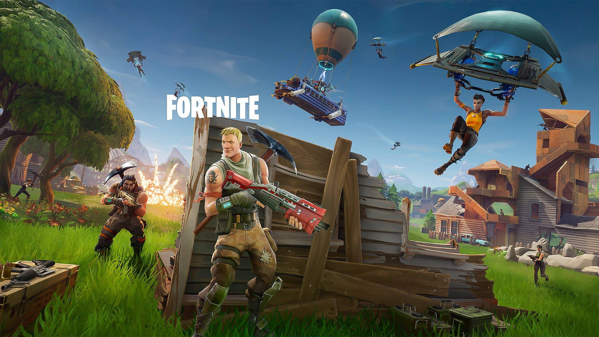 Modos de jogo Fortnite