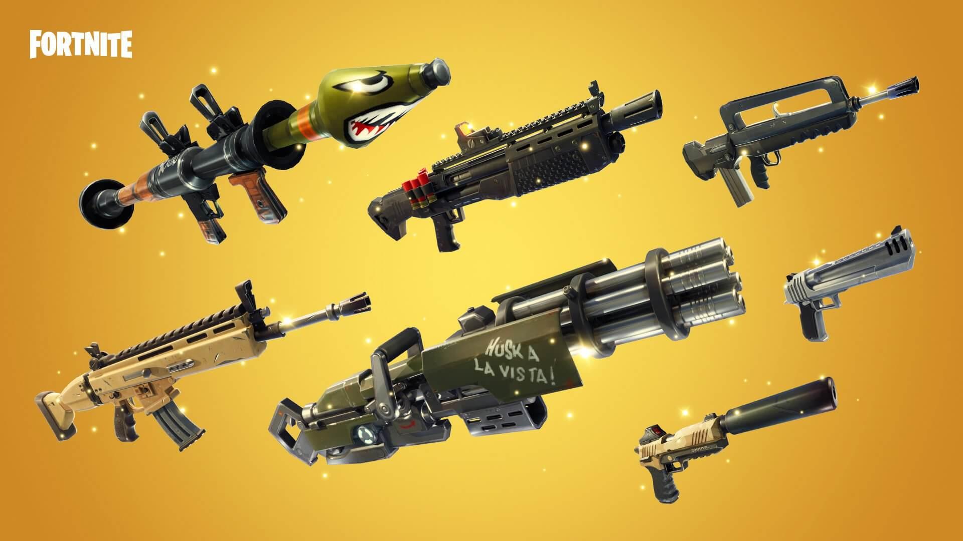 Lista de armas de Fortnite