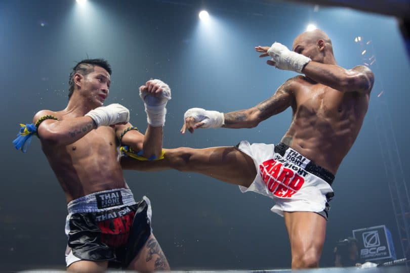 Chute no Muay Thai