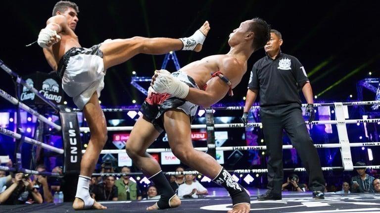 Defesa no Muay Thai