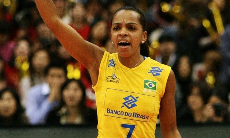 Fofão levantadora da seleção brasileira