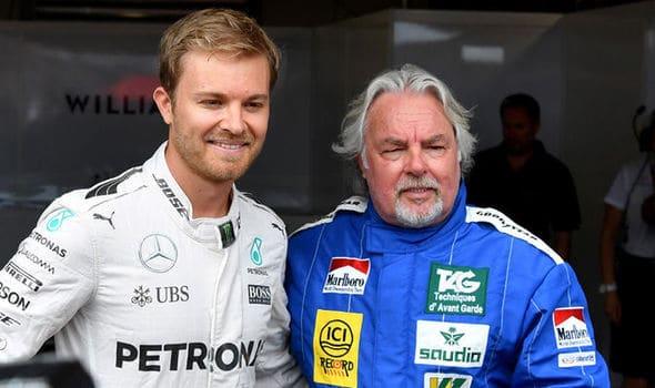 Nico e Keke Rosberg filho e pai campeões da F1