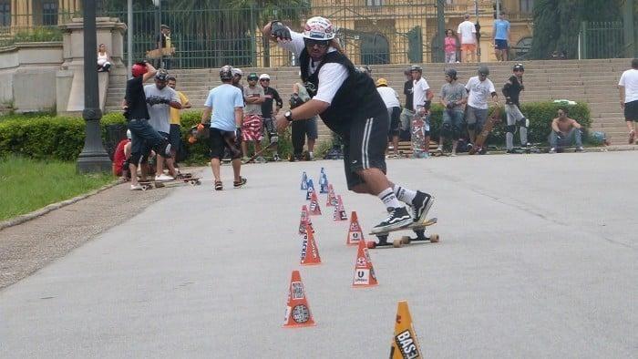 Skate Slalom