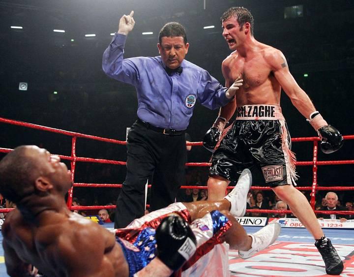Árbitro de boxe