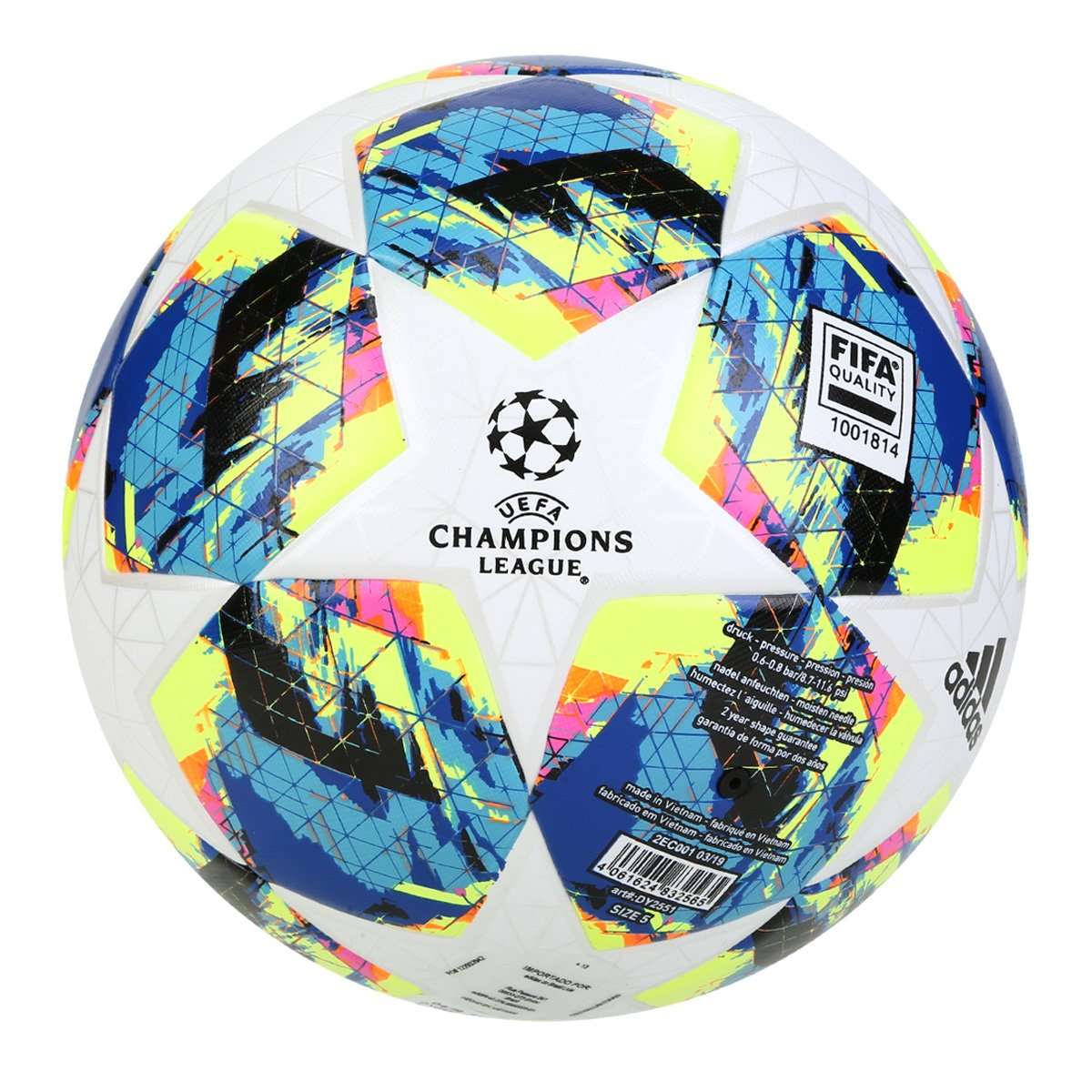 Bola de futebol da Champions League