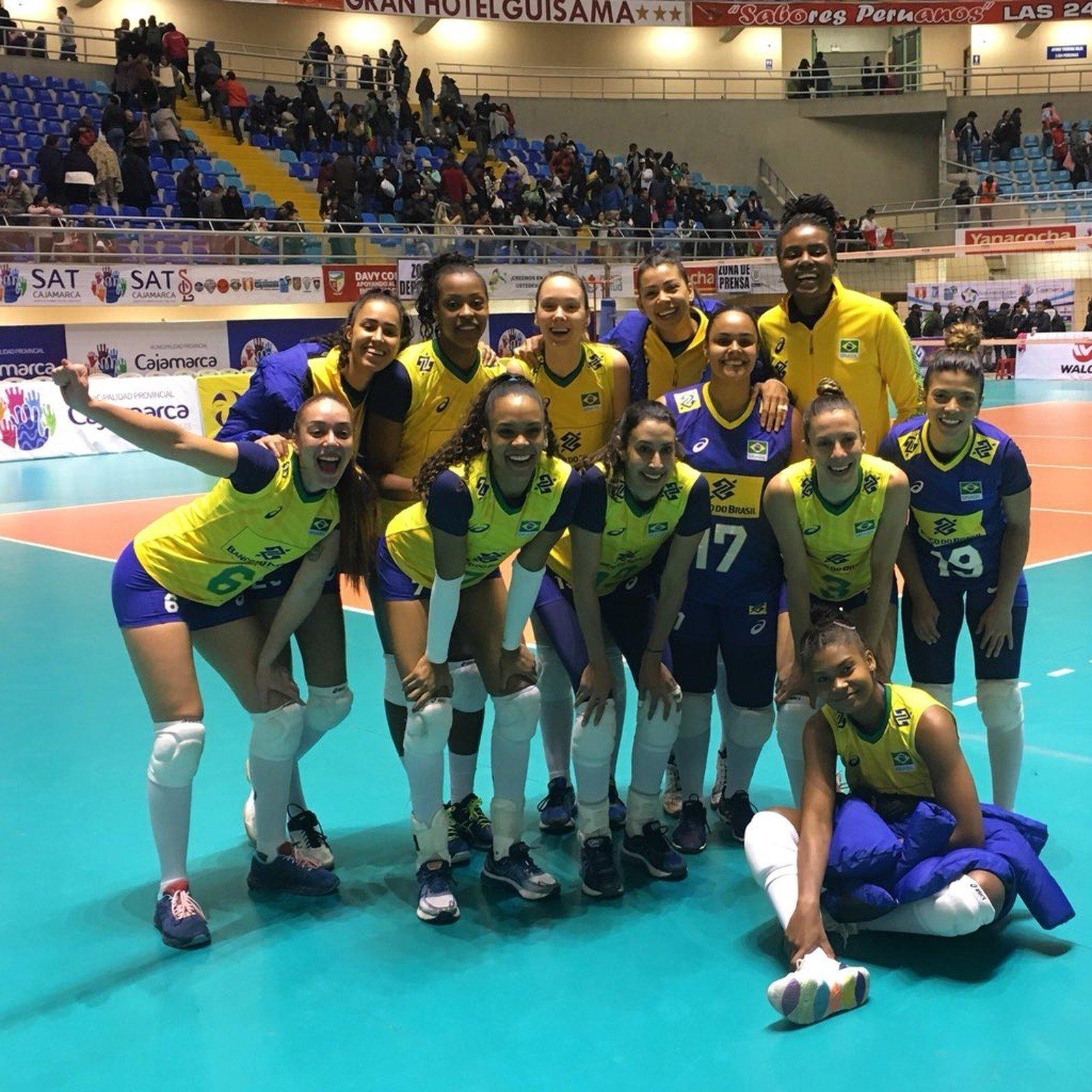 Brasil campeão sul-americano de vôlei feminino 2019