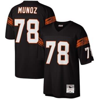 Camisa do Cincinnati Bengals Retrô Anthony Munoz