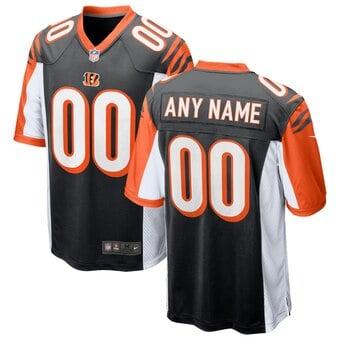 Camisa do Cincinnati Bengals Preta