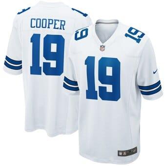 Camisa Dallas Cowboys Branca Cooper