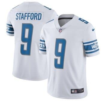 Camisa do Detroit Lions Branca