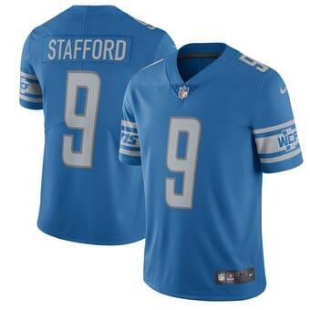 Camisa do Detroit Lions Azul