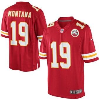 Camisa Kansas City Chiefs Retrô Joe Montana