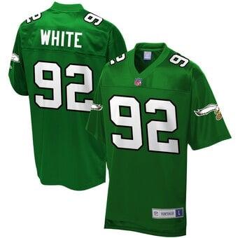 Camisa Phialdelphia Eagles Retrô Reggie White