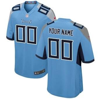 Camisa do Tennesse Titans Azul Clara