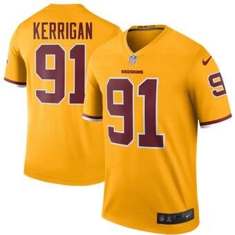 Camisa do Washington Redskins Amarela