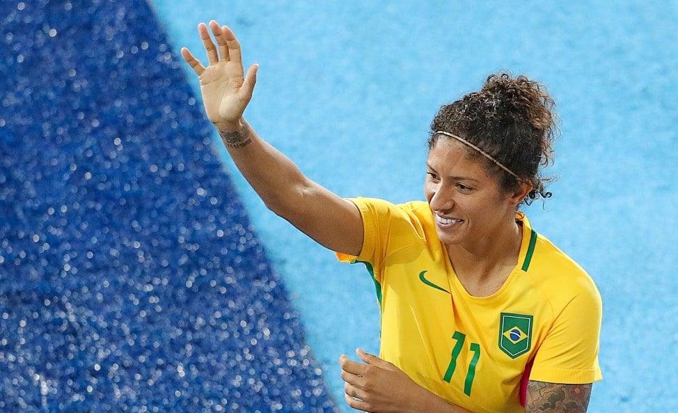 Cristiane maior artilheira do futebol nas Olimpíadas