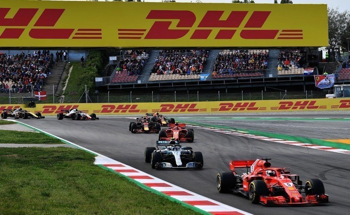 DHL patrocinadora da Fórmula 1