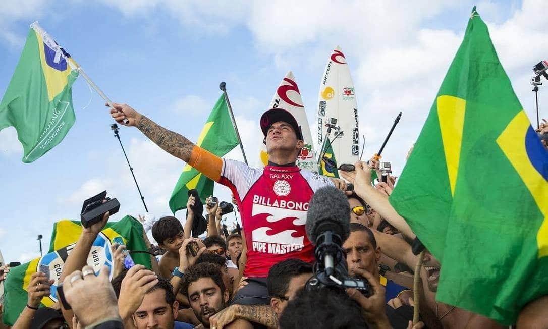 Gabriel Medina campeão mundial de surf