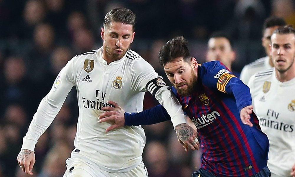 Real Madrid e Barcelona Campeonato Espanhol