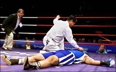 Médico boxe