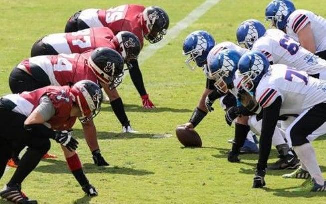 Offensive Line futebol americano