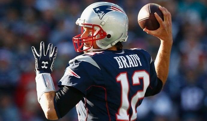 Tom Brady quarterback de futebol americano