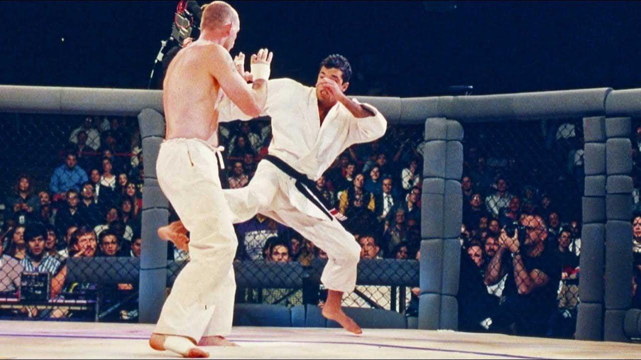 Royce Gracie campeão do UFC 1