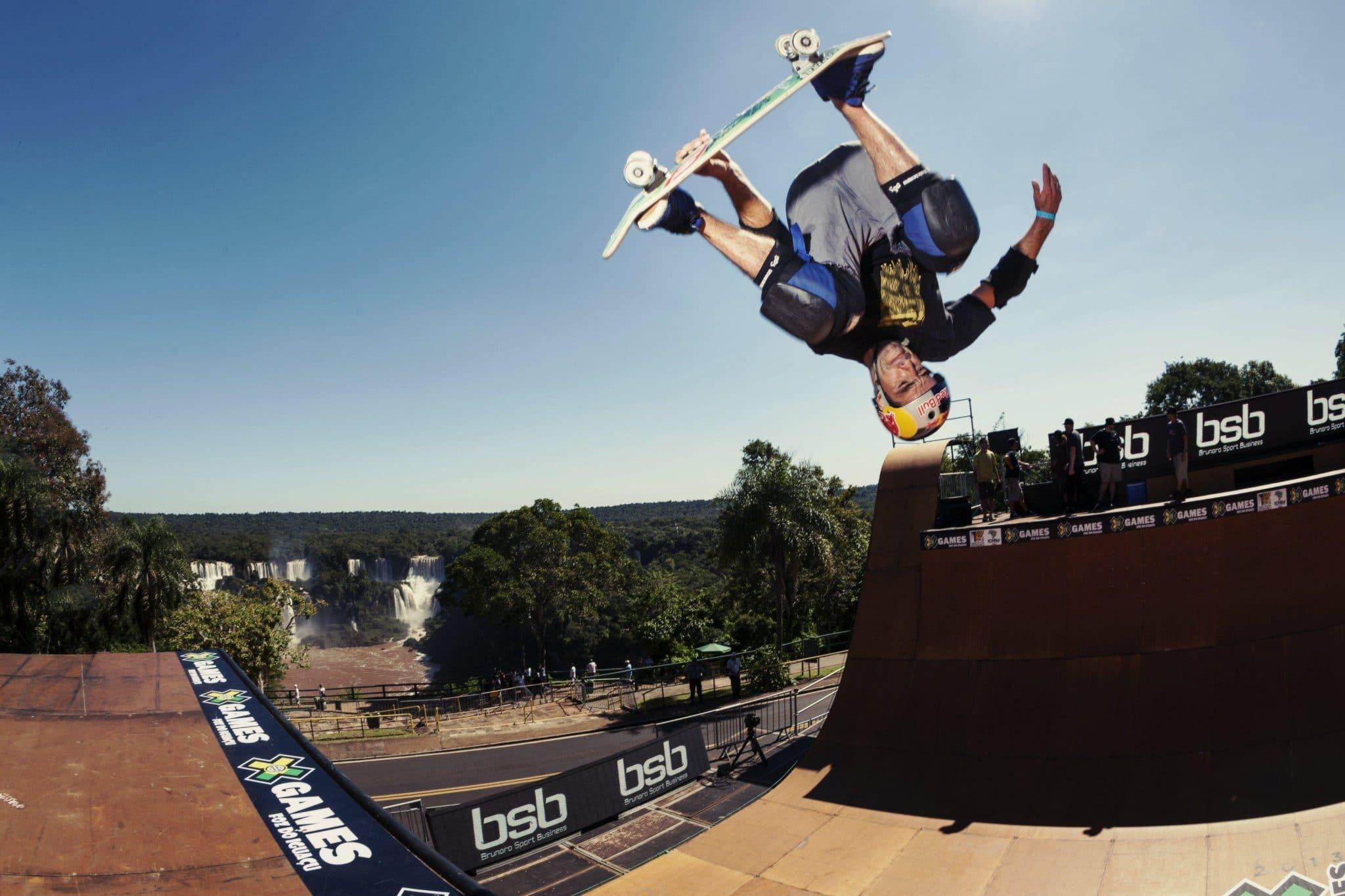 Sandro Dias skate vertical