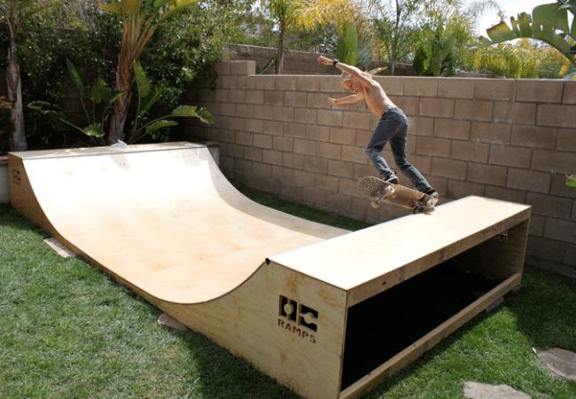 Skate mini rampa