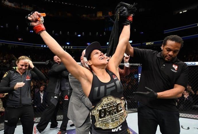 Amanda Nunes campeã do UFC